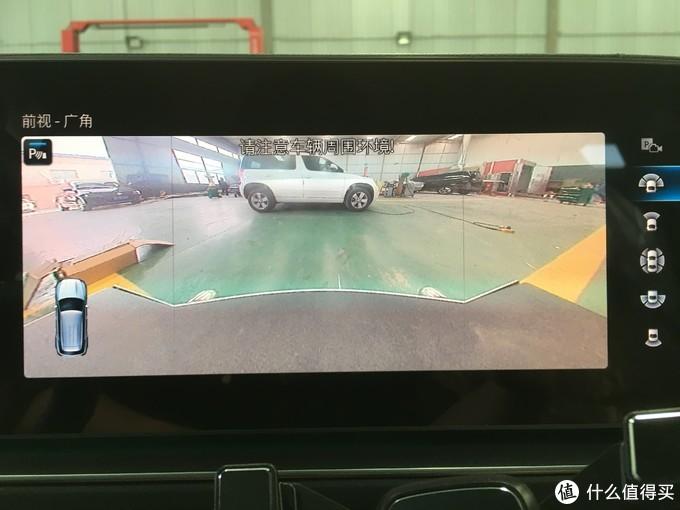 20款GLE350改原厂360全景影像系统,360°的环绕视角展现