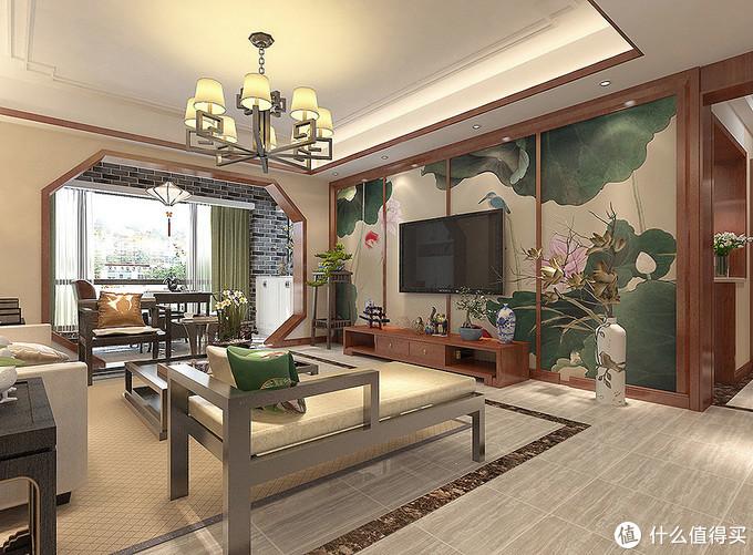 人生的第一套房,又是婚房,装修不将就,做中式风,惊艳小区邻居