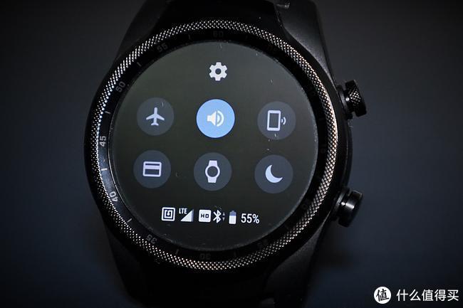手表下方的4GLTE信号📶图标