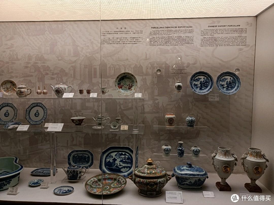 在澳门被卖出国外的各种瓷器