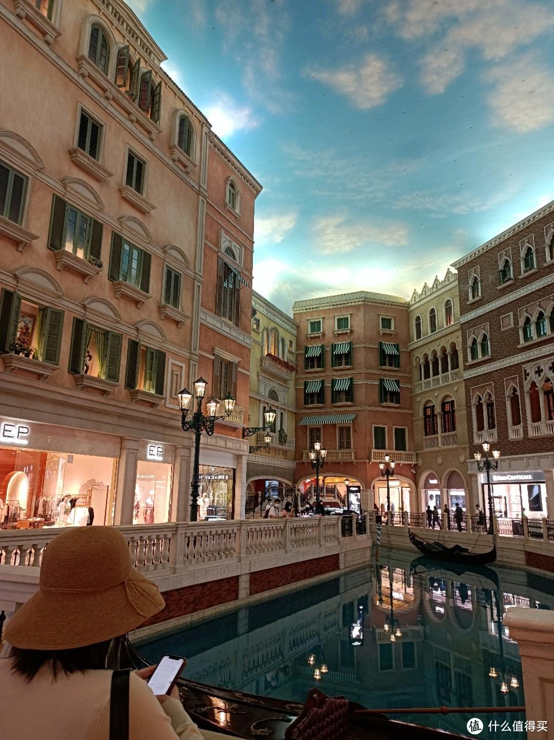 威尼斯人的运河商业中心