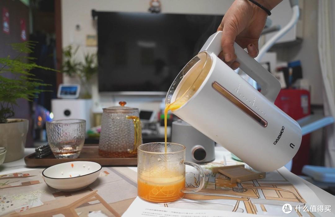 让家里的早餐精致起来——大宇破壁机养生壶套装入手
