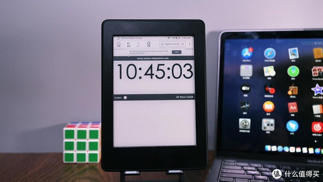 Kindle秒变时钟,好看的6个时钟资源分享和教程