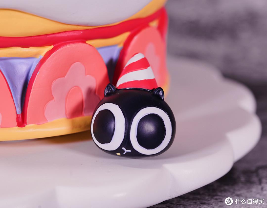 激萌罗小黑,送上满满的生日祝福!罗小黑生日蛋糕音乐盒测评