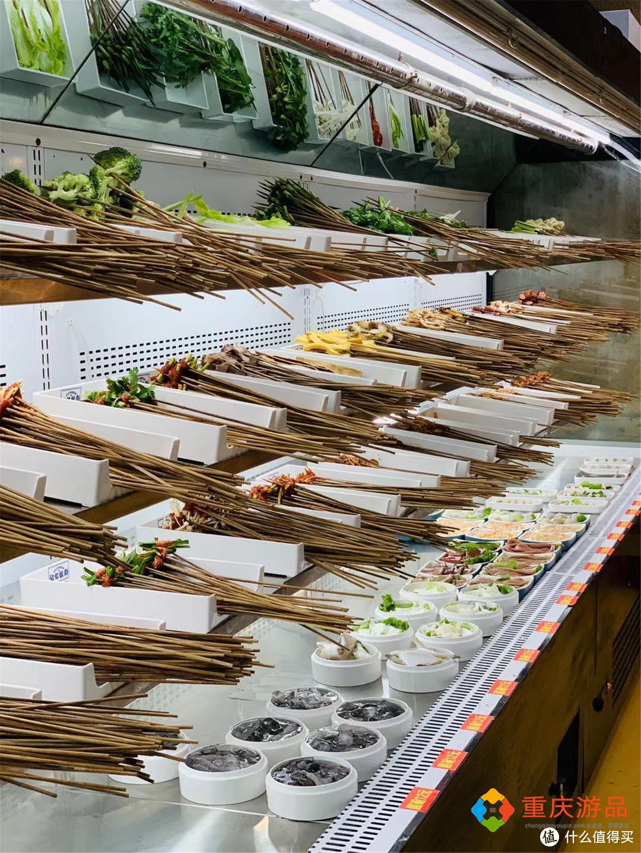 重庆串串攻略:近百种菜品随便选,甜品小吃都免费,39元一个人