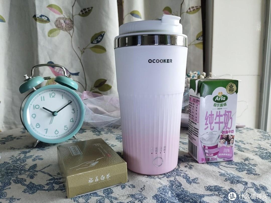QCOOKER便携式奶茶杯,做你的私人定制奶茶!