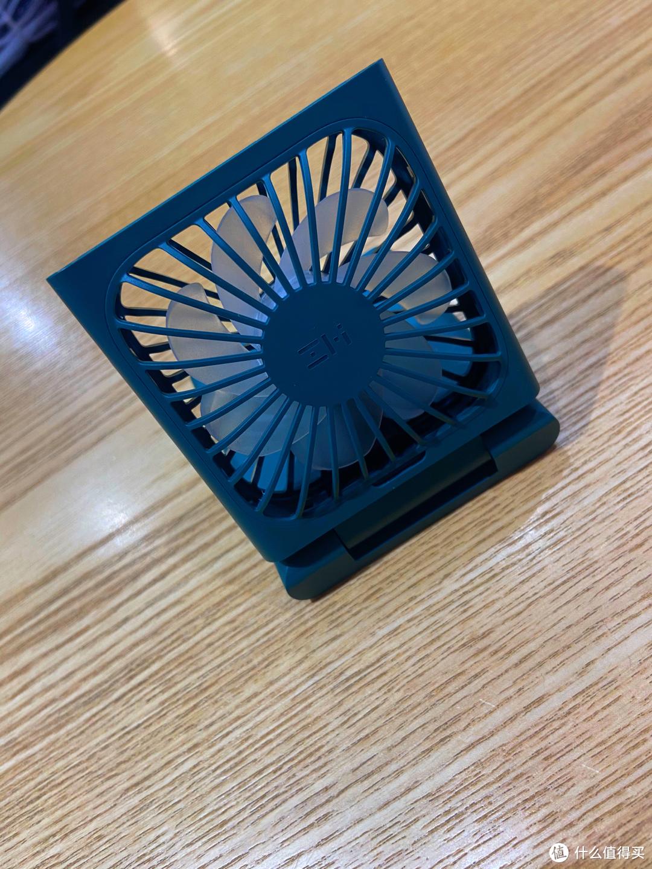紫米挂脖折叠小风扇(桌面模式)