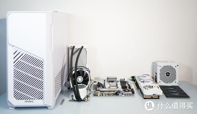 五一假期从DIY装机开始,R5 5600+RTX3060白色主机诞生记