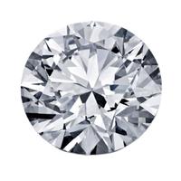 0.50克拉圆形切割钻石