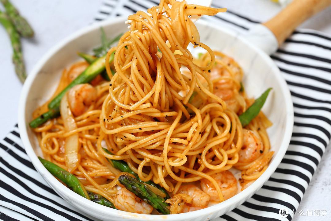 完胜西餐厅的低脂意面,营养丰富热量不超标,吃好吃饱健康减肥!