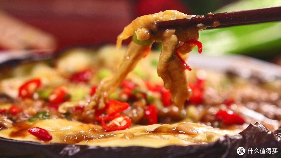 用微波炉烤茄子,鲜辣过瘾,在家就能吃到烧烤的味道