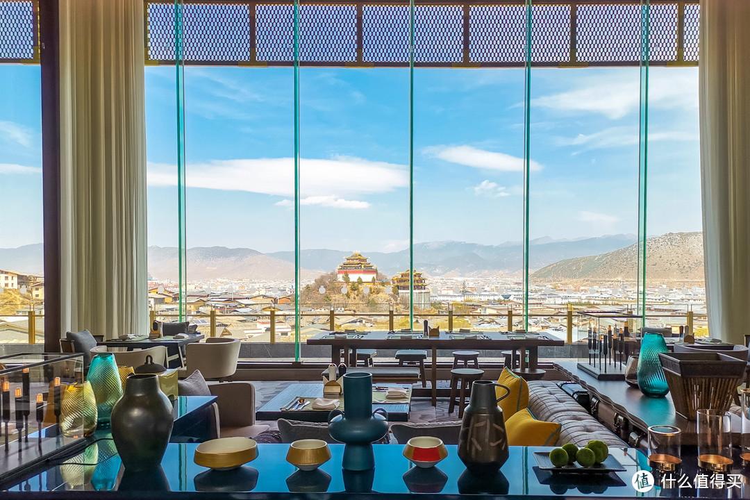 餐厅的景观是最好的