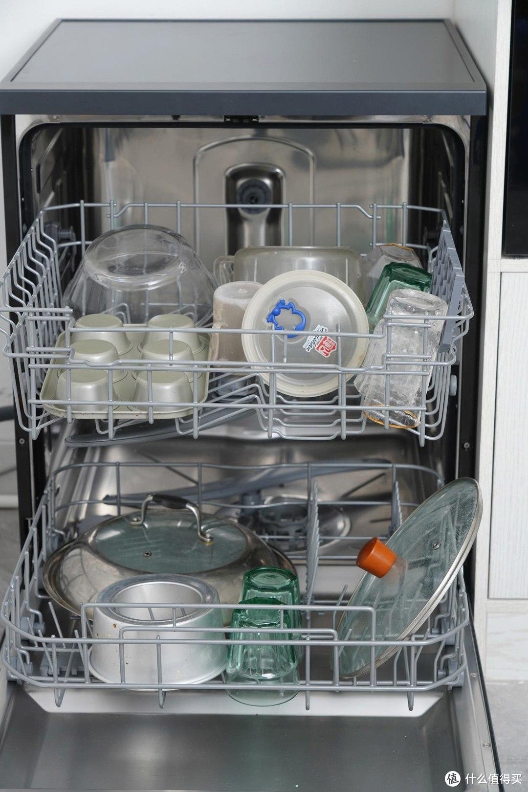 新厨房的新电器,能自动开门存碗的洗碗机--海尔G5洗碗机使用评测