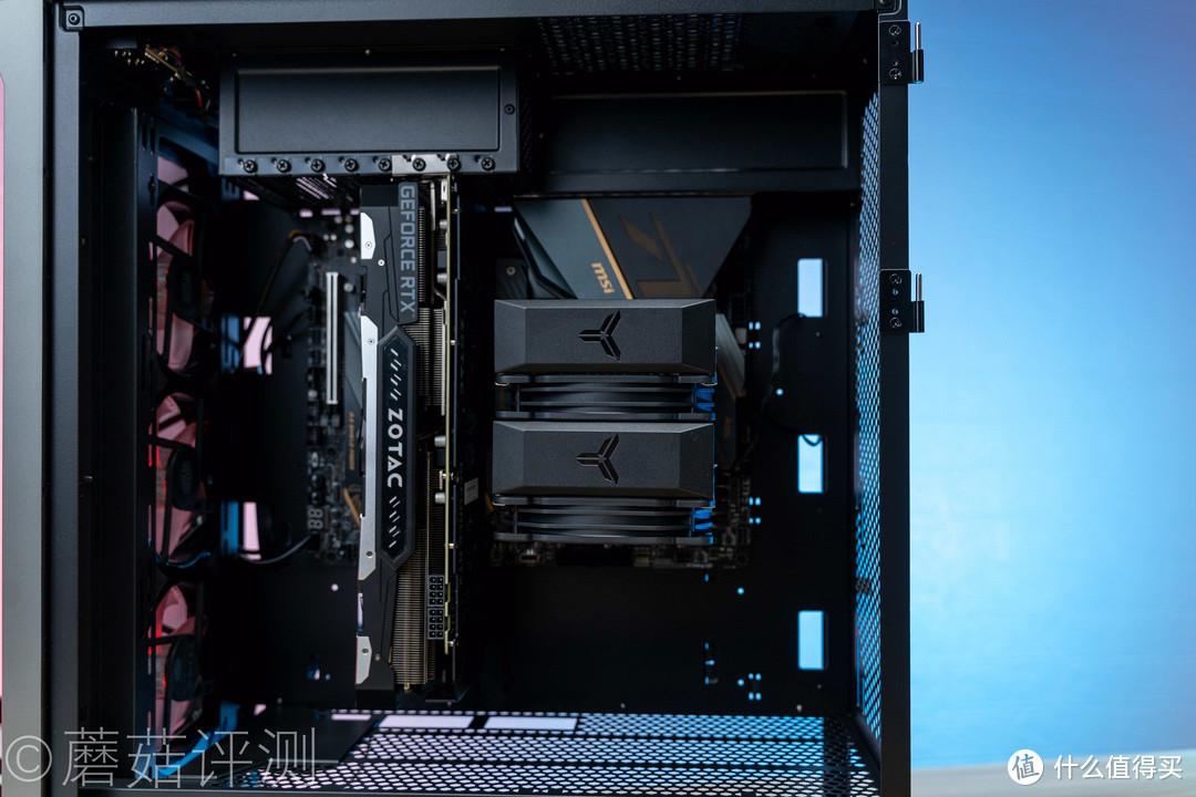 高性价比双塔风冷散热、乔思伯(JONSBO)CR-2100 塔式CPU散热器 评测