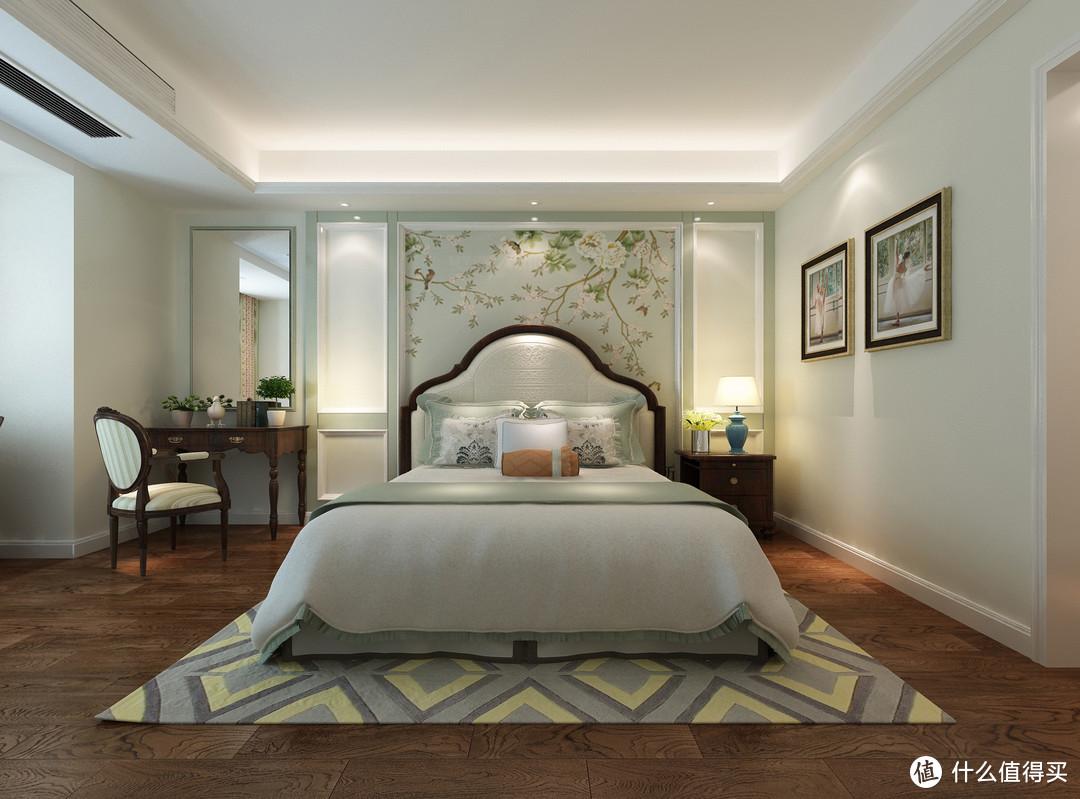 她家的新房装美式风格,进门就亮了,圆形餐厅特别吸引人,爱上了
