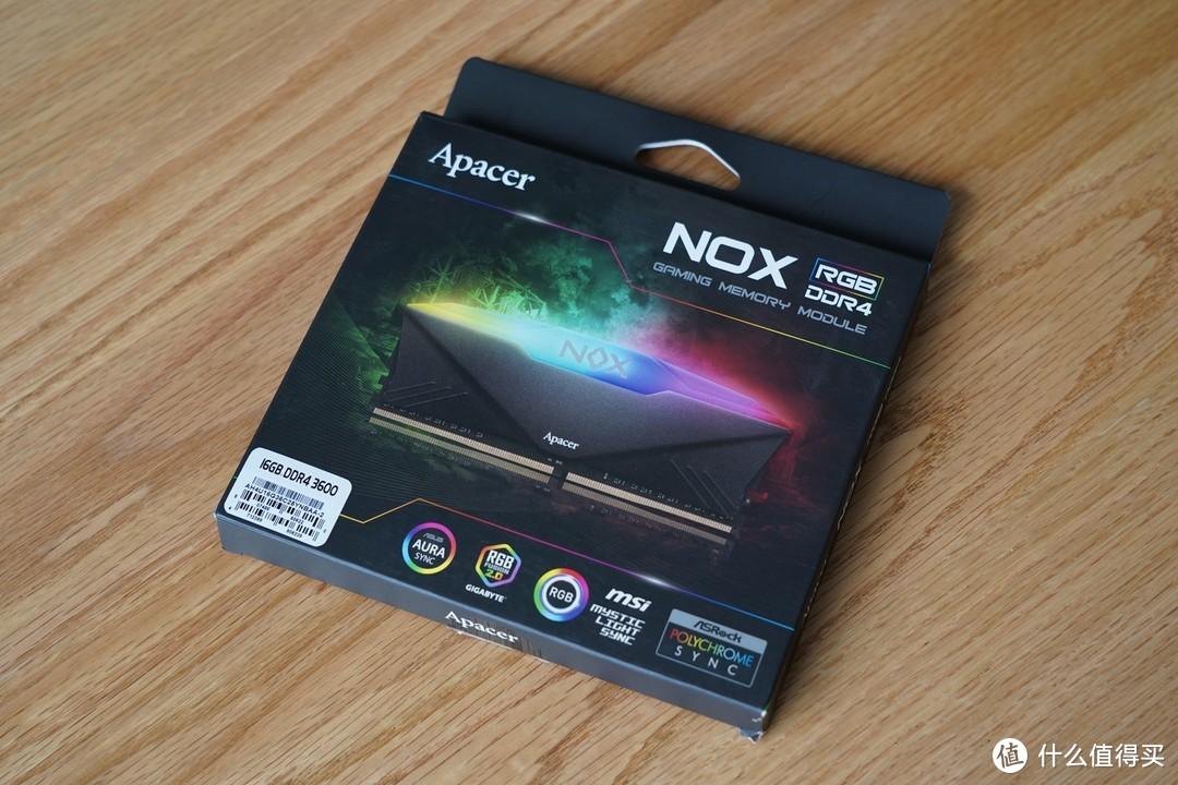 内存还是宇瞻NOX暗黑女神8G*2 3600MHz套装。