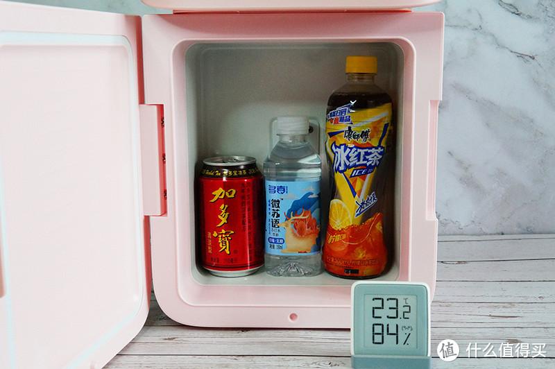 冷暖两用,桌面专属:倍思小冰屋学生冰箱体验