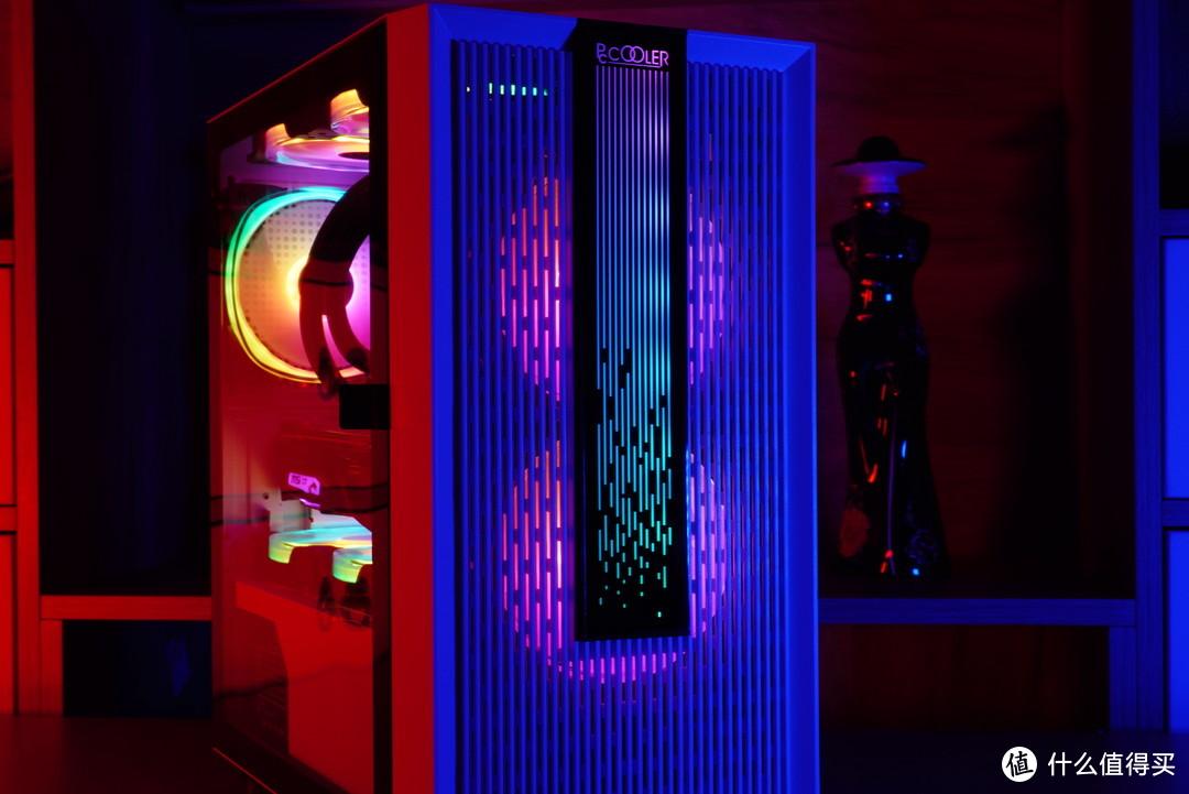 入门级市场需要刷新一波颜值了,超频三光愈全RGB装机展示