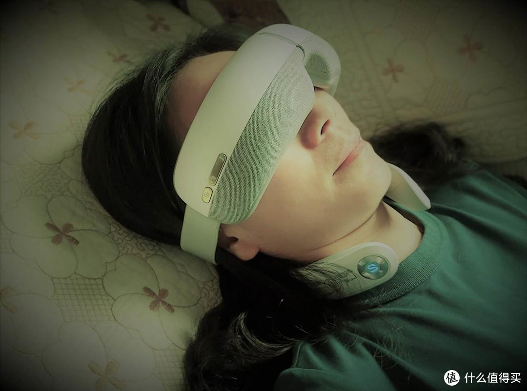 呵护眼睛有妙招,SKG专业眼部按摩仪,轻松放松眼睛