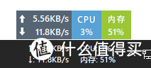 大小不足3MB的小应用,却是最好用的网络/内存监控软件