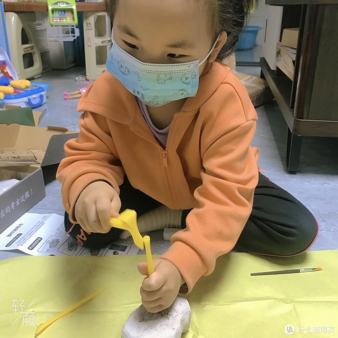 来当小小考古家——皮诺考古系列玩具