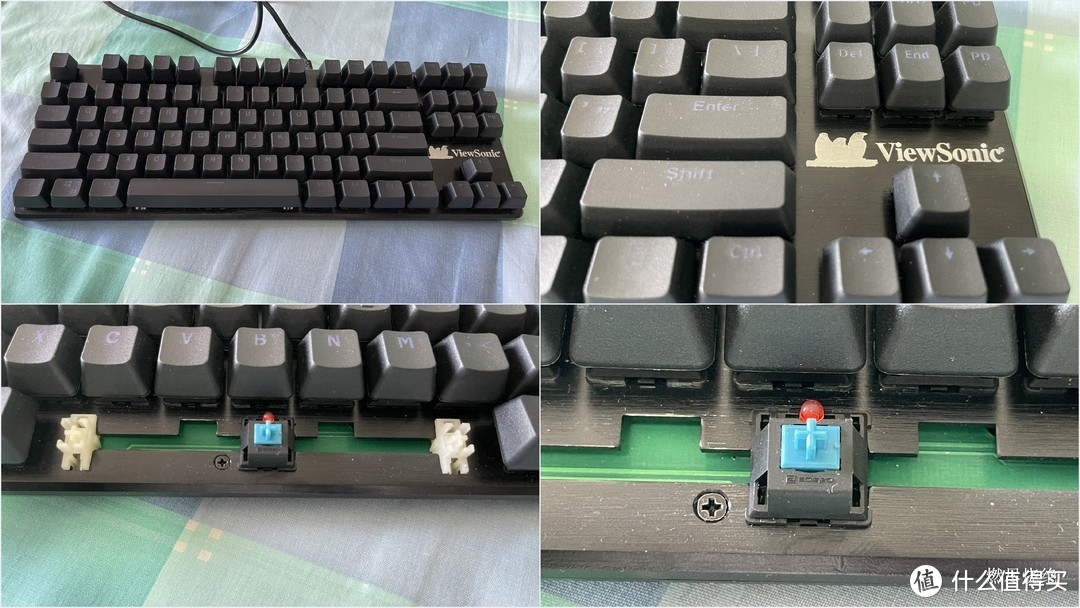 89元的Cherry轴机械键盘能用吗?(篇一,攀升赛点MPK10 87键 cherry青)