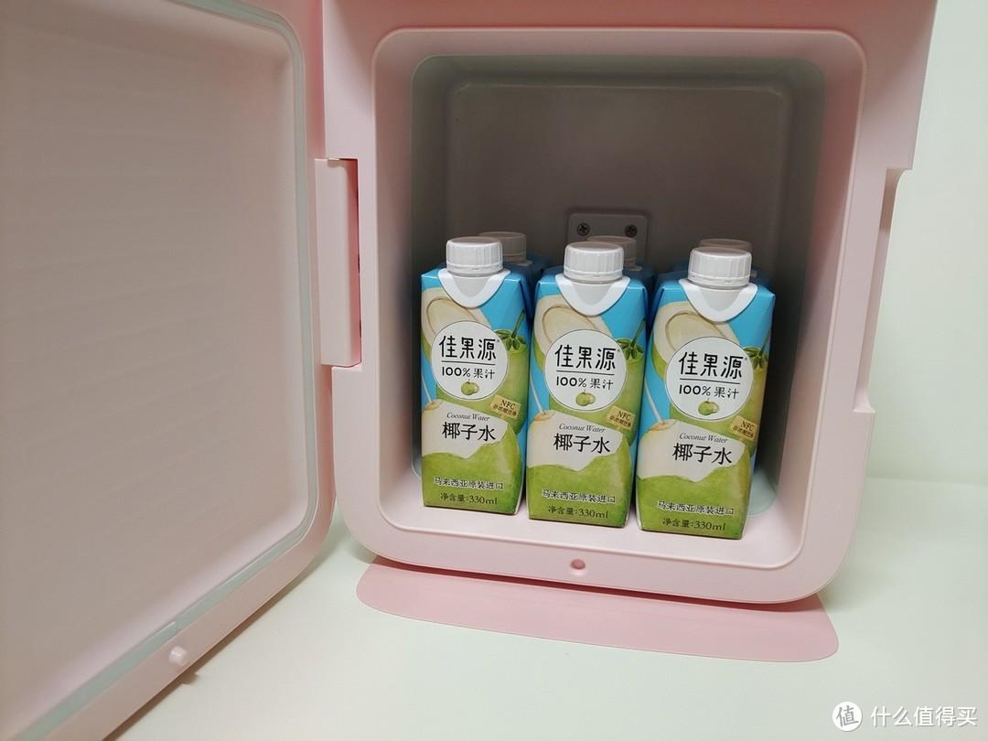 冷暖两用BASEUS倍思小冰箱,高性价比低功耗学生冰箱