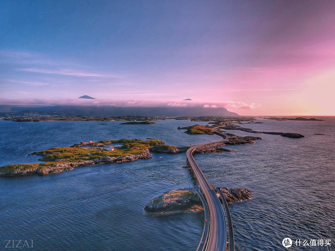 大西洋公路,去挪威就是为了走一趟这条路。大疆spark拍的,快被风吹走了