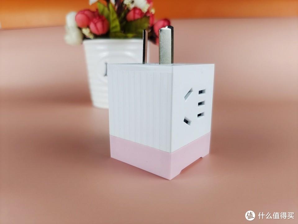 居家旅行必备神器,小巧精致的奥睿科电立方mini插座