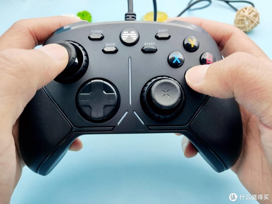 可编程的有线游戏手柄,北通阿修罗3有线版简单易用
