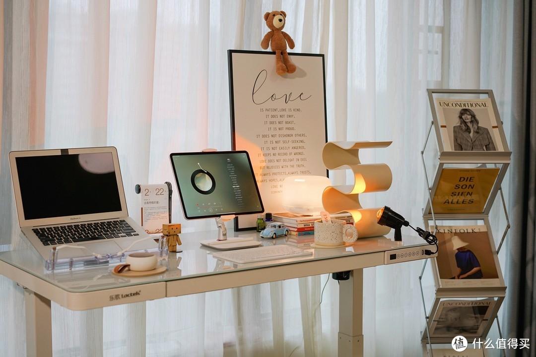 氛围感桌面布置+站立办公!附好物清单