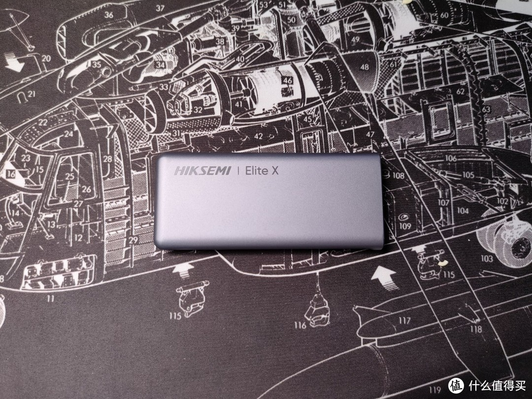 海康威视Elite X移动固态硬盘 首款雷电3&USB4.0移动固态硬盘