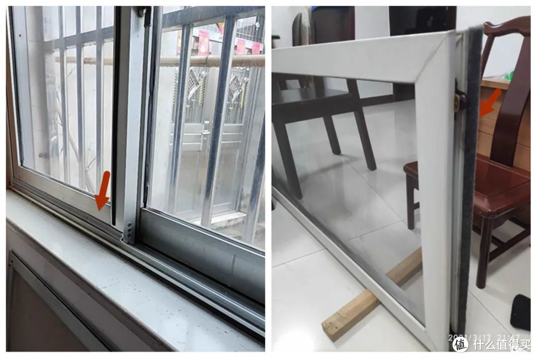 推拉门窗漏风、漏音问题的,DIY解决办法