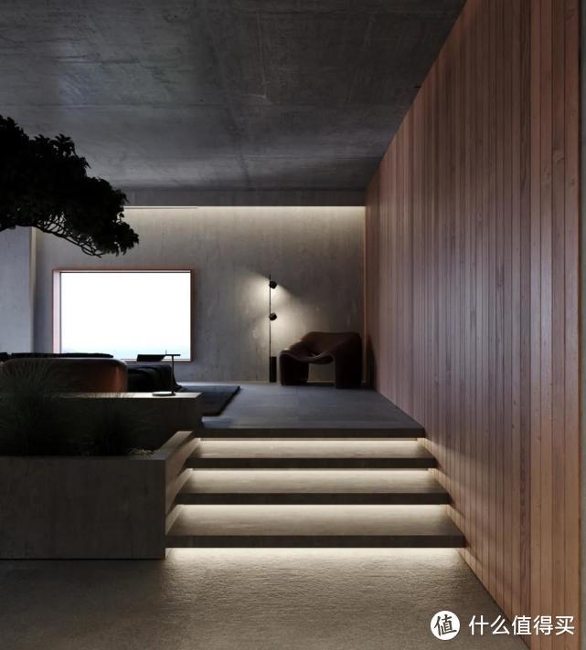 大平层房屋,打造独特暗色系风格