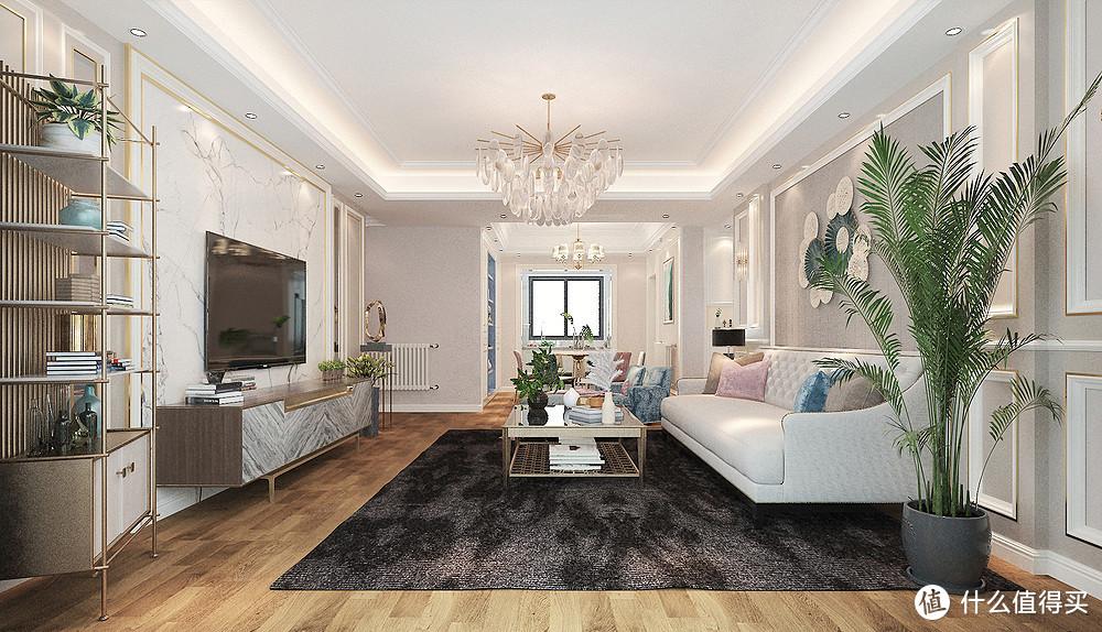 她家的美式轻奢风格新房装修,全屋温馨到让人羡慕,被彻底治愈了