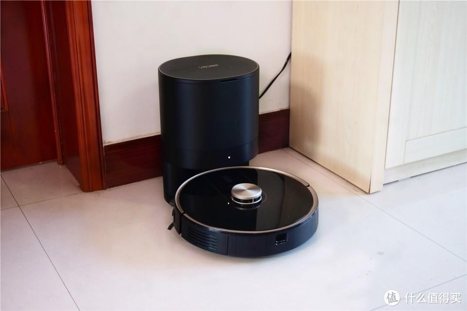 由利V980 Plus评测:能扫会拖,还能自己倒垃圾的扫地机器人!