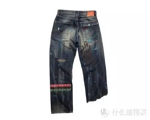 世界大战牛仔裤,设计真的太狂了
