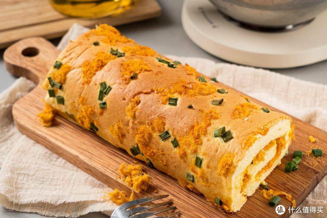 厨师机助攻,日式盐面包和咸香肉松卷,好吃又好做