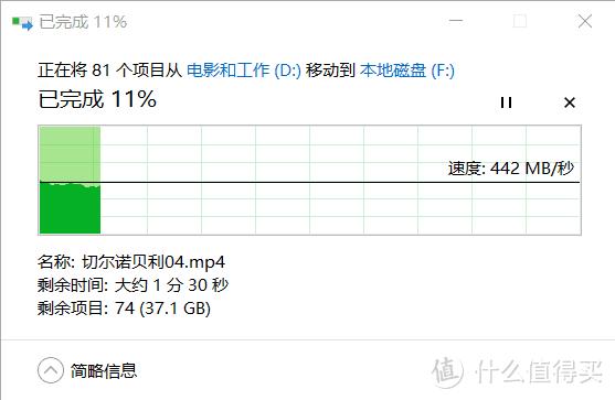 40G左右的文件拷贝