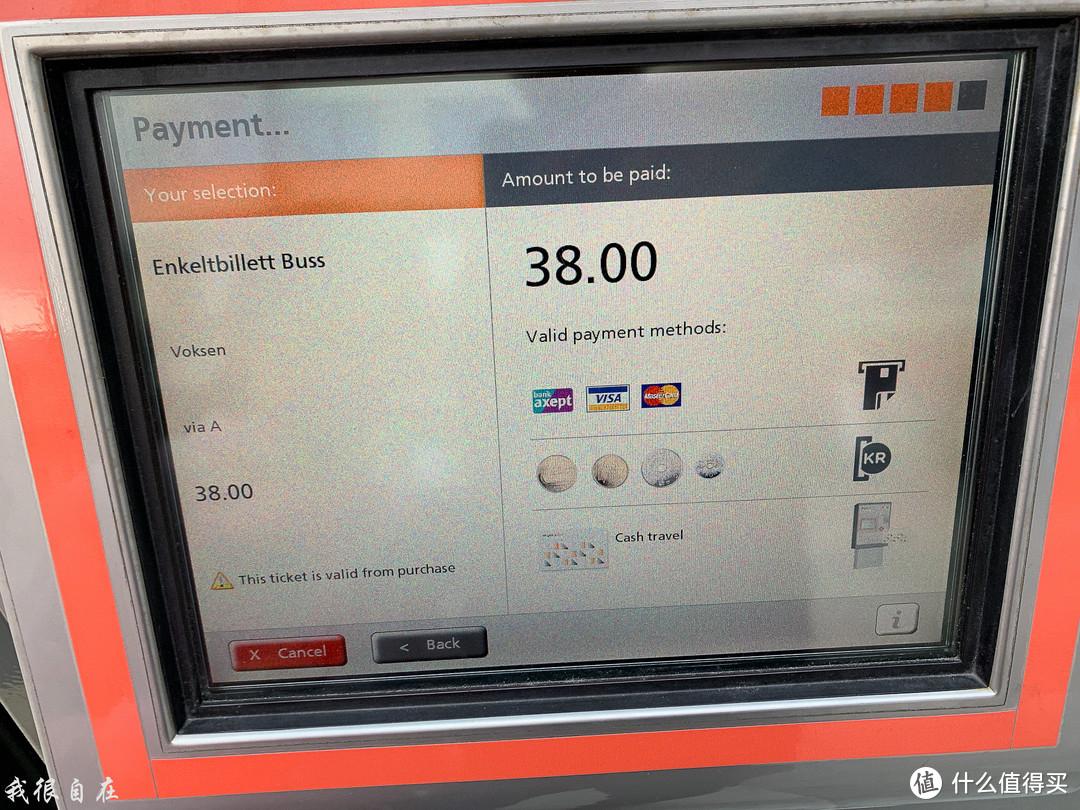 卑尔根公交车在市区内环的单程票39克朗,人民币差不多乘以0.8