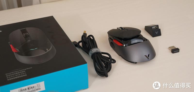 游戏鼠标也时尚 雷柏VT960双模游戏鼠标小测