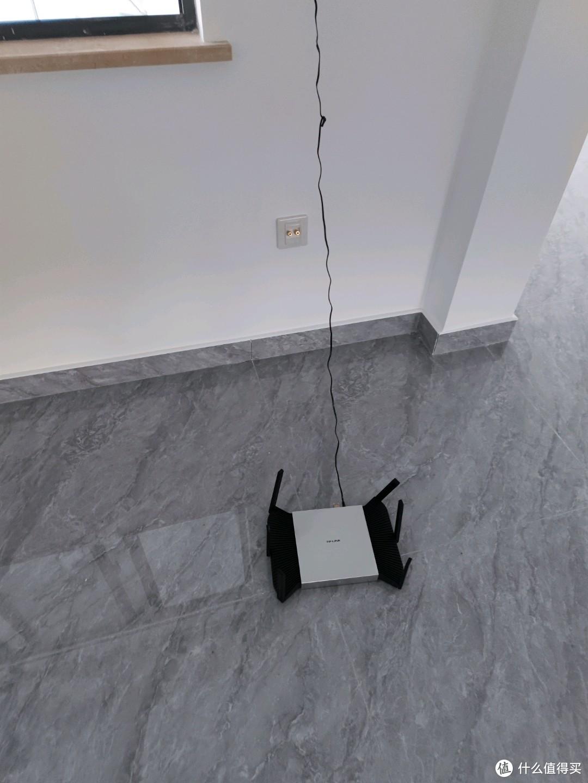 组mesh后放到楼上去,不插网线