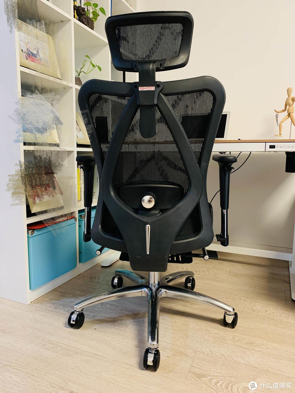 头枕靠背扶手都可调,办公休憩皆适合,西昊M57B人体工学椅使用评测