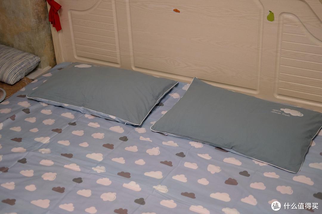 亲肤透气成就舒适睡眠,LOVO乐蜗家纺特丽斯四件套 体验报告