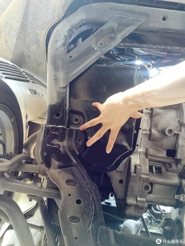 13款马六自己动手更换5AT变速箱油及滤芯