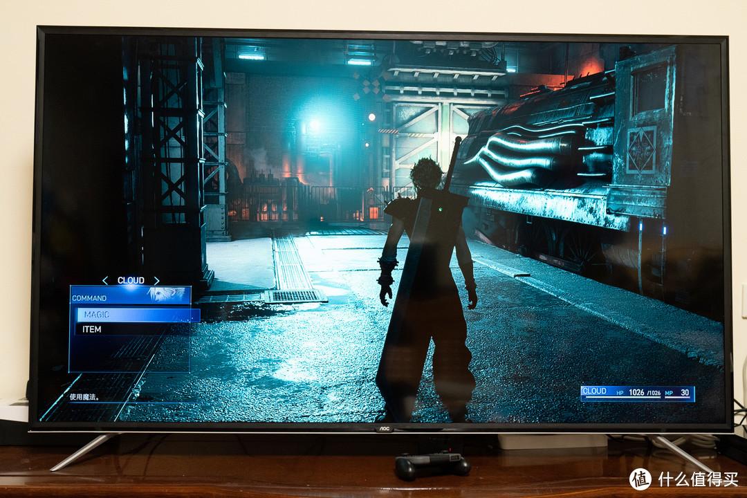 准备国行PS5入手,让打TV GAME就是这么纯粹爽:AOC 65G2X游戏电视