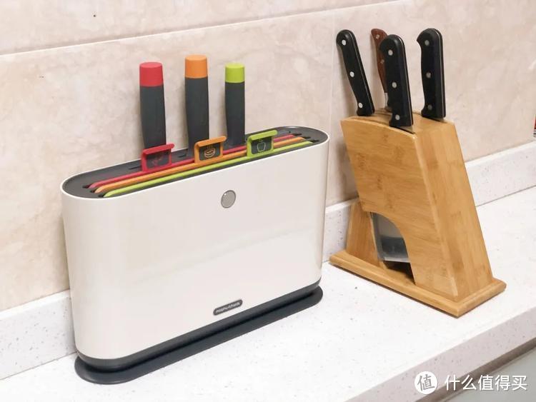 好物推荐 |3把刀+3块菜板+消毒机,一套配齐,吃得干净用得放心
