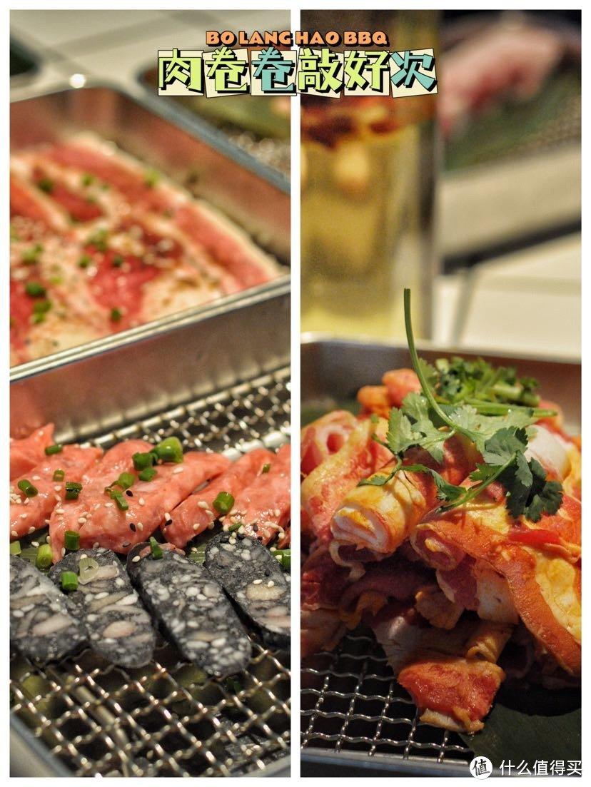 围着火炉吃大西瓜烤肉海鲜啦