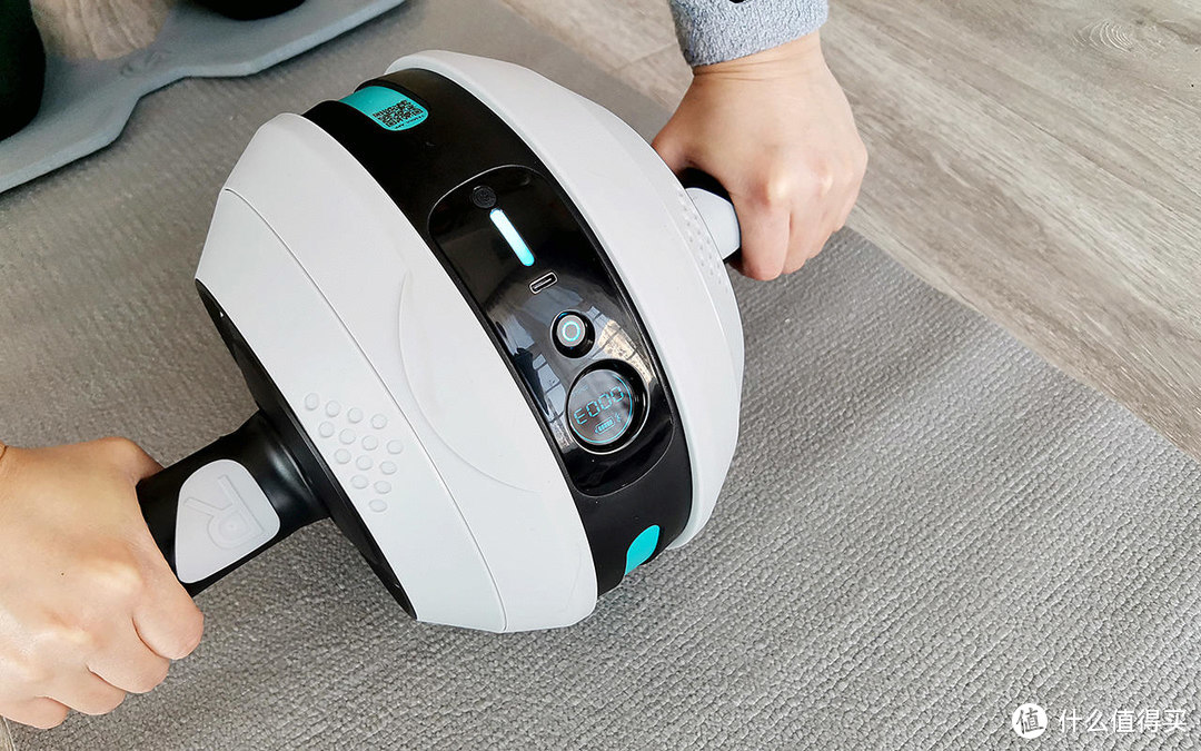 居家健身好物,助力打造腰腹曲线!野小兽健腹轮J20评测体验