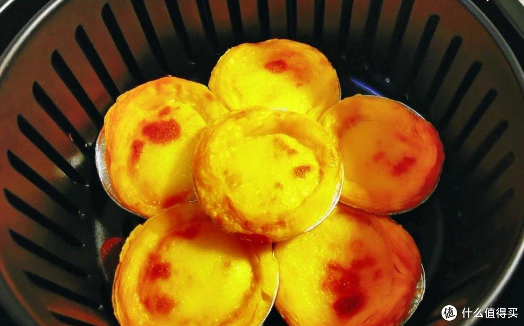 空气炸锅自制蛋挞,金黄酥脆,制作简单